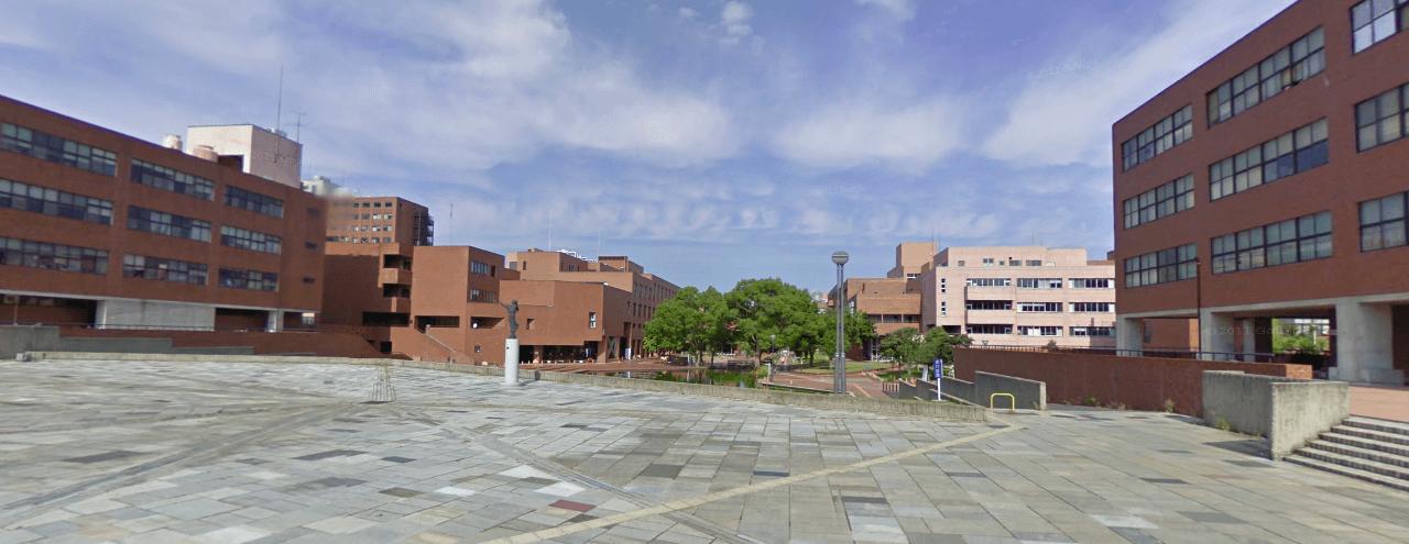 さあ、筑波大学の筑波キャンパス...